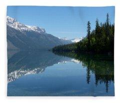 Lake Mcdonald - Glacier National Park Fleece Blanket
