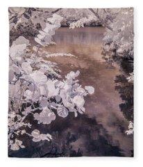 Lake Shadows Fleece Blanket