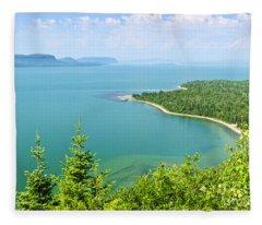 Lake Superior Fleece Blanket