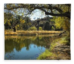 Lake View Fleece Blanket