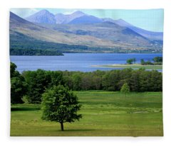 Lakes Of Killarney - Killarney National Park - Ireland Fleece Blanket