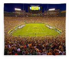 Lambeau Field Fleece Blanket