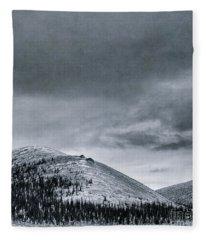 Land Shapes 10 Fleece Blanket