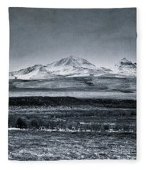 Land Shapes 7 Fleece Blanket