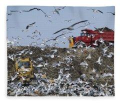 Landfill Fleece Blanket