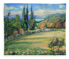 Landscape From Kavran Fleece Blanket
