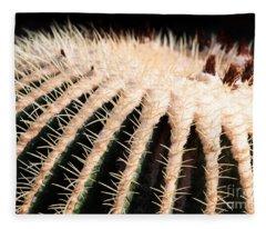 Large Cactus Ball Fleece Blanket