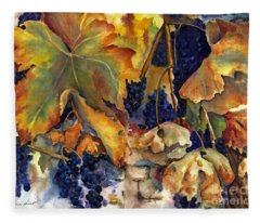 The Magic Of Autumn Fleece Blanket