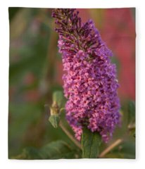 Late Summer Wildflowers Fleece Blanket