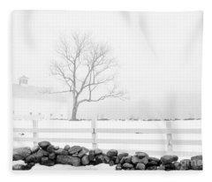 Late Winter Fleece Blanket