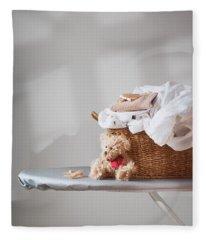 Laundry Fleece Blanket