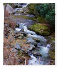 Laurel Creek  Fleece Blanket