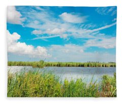 Lauwersmeer National Park. Fleece Blanket
