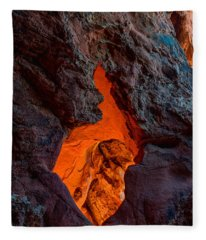 Lava Glow Fleece Blanket