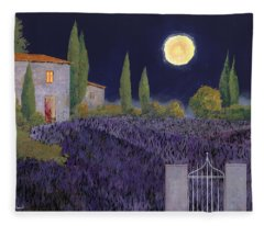 Lavanda Di Notte Fleece Blanket