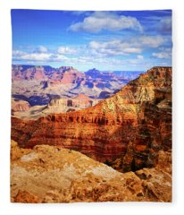 Layers Of The Canyon Fleece Blanket