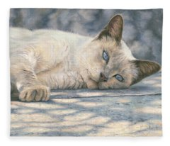 Lazy Afternoon Fleece Blanket