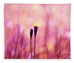 Le Centre De L Attention - Pink S0301 Fleece Blanket