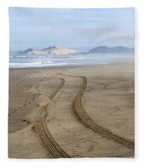 Leading To The Cape Fleece Blanket