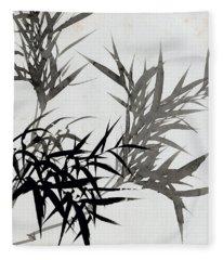 Leaf H Fleece Blanket
