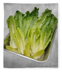 Leaf Lettuce Fleece Blanket