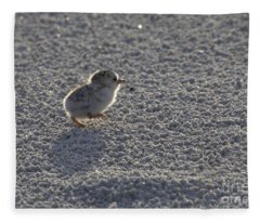 Least Tern Chick Fleece Blanket