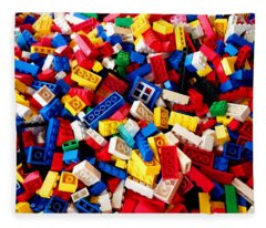 Lego - From 4 To 99 Fleece Blanket