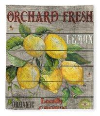 Lemons-jp2679 Fleece Blanket