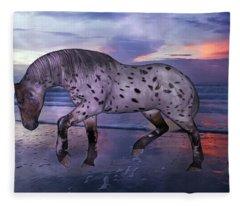 Leopard Appaloosa Fleece Blanket