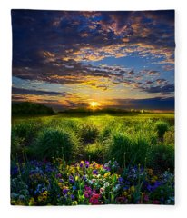 Let It Be Fleece Blanket