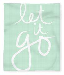 Let It Go Fleece Blanket