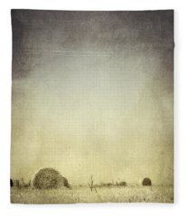 Let The Rain Come Down Fleece Blanket