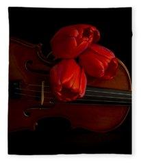 Let Us Make Beautiful Music Together Fleece Blanket