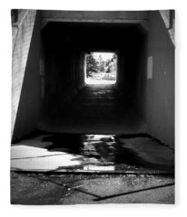 Lethbridge Underpass Fleece Blanket