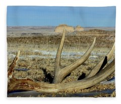 Life Above The Buttes Fleece Blanket