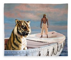 Life Of Pi Fleece Blanket