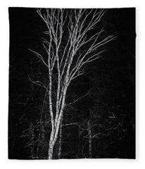 Life's A Birch No.2 Fleece Blanket
