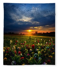 Lifetimes Fleece Blanket