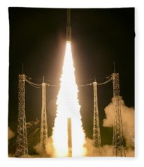 Liftoff Of Vega Vv06 With Lisa Fleece Blanket