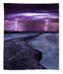 Light Symphony Fleece Blanket