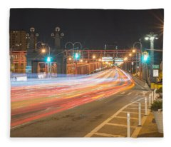 Light Traffic Fleece Blanket