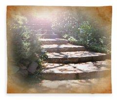 Light Unto My Path Fleece Blanket