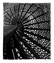 Lighthouse Spiral Fleece Blanket