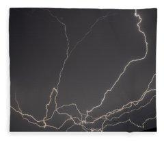 Lightning 6a Fleece Blanket