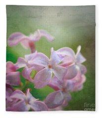 Lilac Dreaming  Fleece Blanket