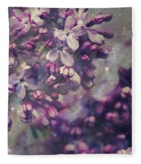Lilac Fleece Blanket