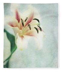 Lilium Fleece Blanket