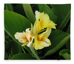 Lilly Of Shreveport Fleece Blanket