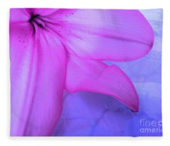 Lily - Digital Art Fleece Blanket