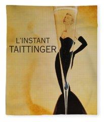 L'instant Taittinger Fleece Blanket